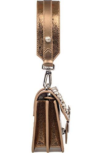 Bronze Femme Pinko Main Sac Cuir 1p216gy4yazzo À PE0wax4vq