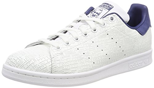 footwear Indigo Baskets Femme White footwear Blanc Stan Smith Adidas White 0 noble qFv0ZOxB