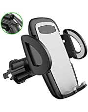 Air Vent Car Phone Holder Diaclara The Most Stable Vehicle Phone Mount Cell Phone Universal Cradle Compatible with iPhone Xs Max XR 8 Plus 7 6 Galaxy S10 9 8 7 6 5 4 LG Nexus Sony Pixel (Grey)