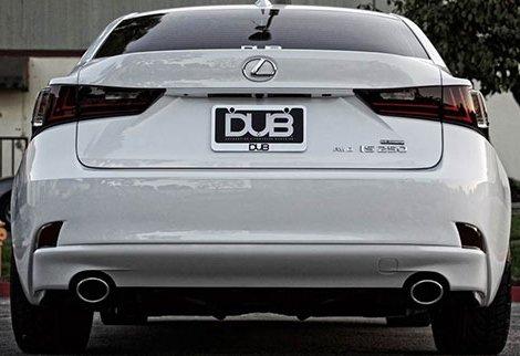 luz de freno DRL para 2013 en adelante 2 luces de freno traseras para parachoques delantero de color negro reflector LED antiniebla IS 250 300 h 350 F MK III XE30