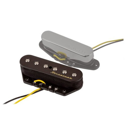Fender Vintage Noiseless Stratocaster Pickups Set Amazon Com >> Fender Single Vintage Noiseless Tele Bridge Pickup