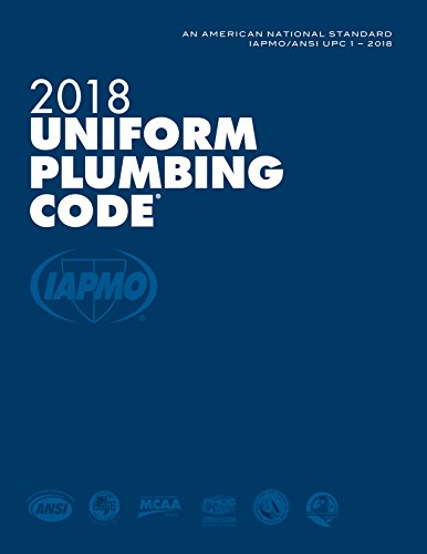 2018 Uniform Plumbing Code with Tabs