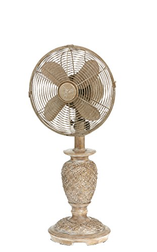 DecoBREEZE Oscillating Table Fan 3 Speed Air Circulator Fan, 10 In, Muriel ()