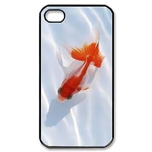 ALICASE Diy Customized hard Case Goldfish For Iphone 4/4s [Pattern-1] wangjiang maoyi