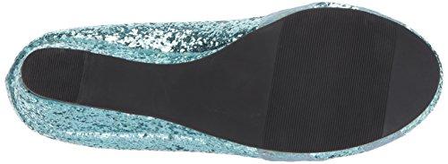 cuña Zapato Shoes Mujer Azul de Alto Ellie princess 018 CAxZCYq