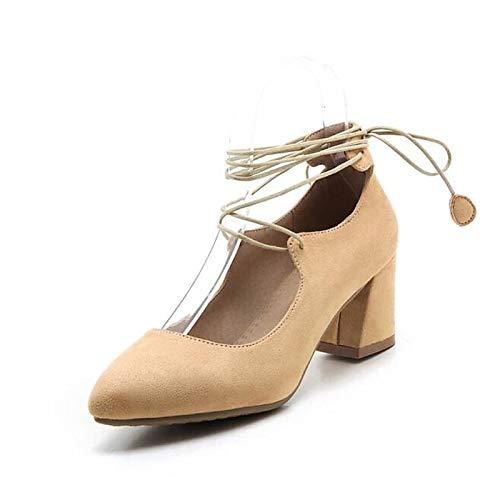 Basic Black Chunky Heel Gray Heels Spring Almond Women's Black PU Pump ZHZNVX Shoes Polyurethane Xq8RSFAnw