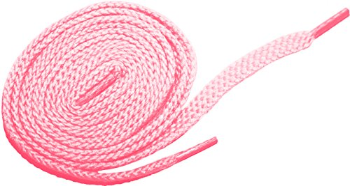 m Oxfords Chukka Desert Boot Flat Canvas Shoelaces (19.5 in. (50 cm), Cherry Pink) ()