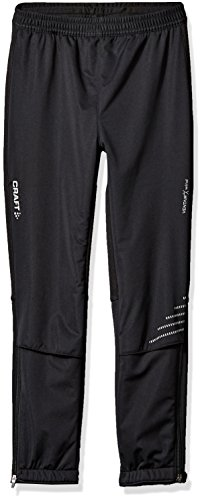 Craft Juniors Warm Pants, Black, Medium by Craft Sports Apparel