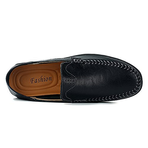 on Black 8159 Slip UK 8 Driving Size Mens Casual CFP Moccasins For Stylish Smart Loafers nUAfqWwY