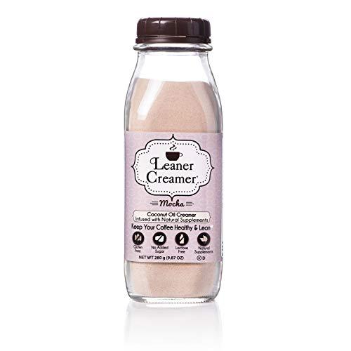 Leaner Creamer- Coffee Creamer Powder: Keto| Non-Dairy| Paleo| Sugar Free- Indulgent Mocha (280g)