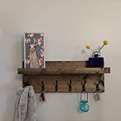 Coat Rack with Shelf (Choose your Length...