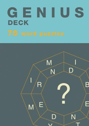 Genius Deck Word Puzzles - Genius Decks: 72 Word Puzzles