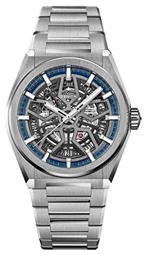 Zenith Defy Classic Blue Skeletonised Movement Watch 95.9000.670/78.M9000