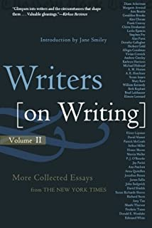 com writers on writing collected essays from the new york 2 writers on writing volume ii more collected essays from the new york