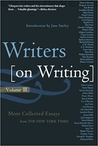 writers on writing volume ii more collected essays from the  2 writers on writing volume ii more collected essays from the new york times writers on writing times books paperback the new york times