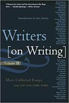 writers on writing volume ii more collected essays from the  2 writers on writing volume ii more collected essays from the new york times writers on writing times books paperback