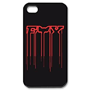 Black & Red Fox Racing Ipod Touch 5th Case