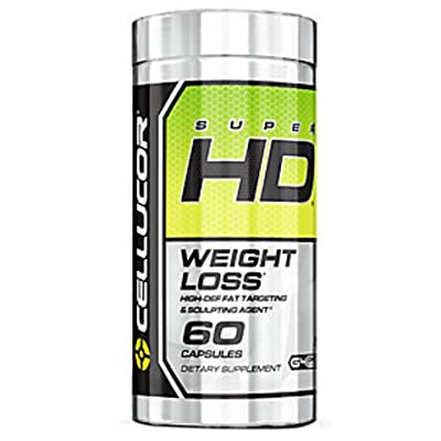Cellucor Super HD Thermogenic Fat Burner, Appetite Suppressant & Metabolism Booster for Weight Loss