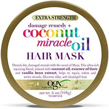 Hair Styling: OGX Damage Remedy Hair Mask