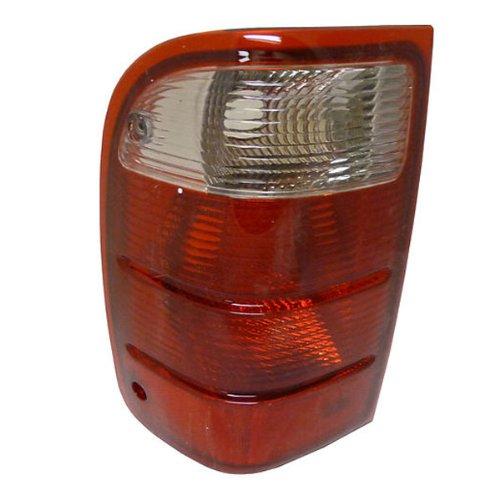 QP F7216-a Ford Ranger Driver Tail Light Lens & Housing Aftermarket