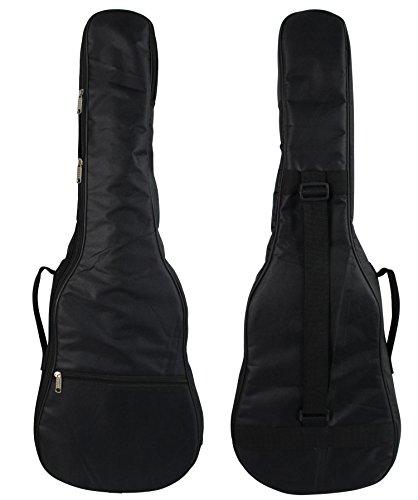 Bonzai Baritone Ukulele Gig Bag with 5mm Foam Padding - Black