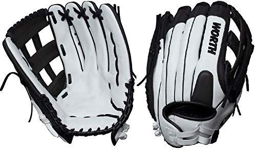 Worth Legit Slowpitch Softball Glove, 14 inch, Pro H Web, Right Hand Throw ()