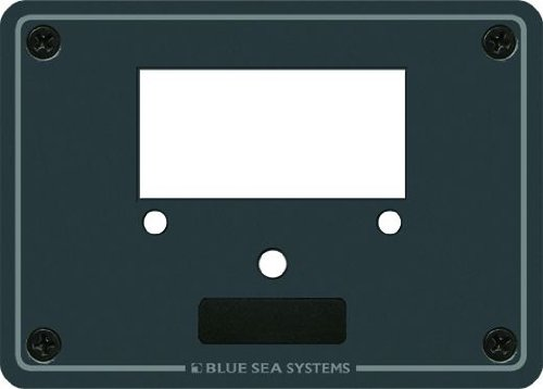 Blue Sea Systems Single Blank Meter Panel