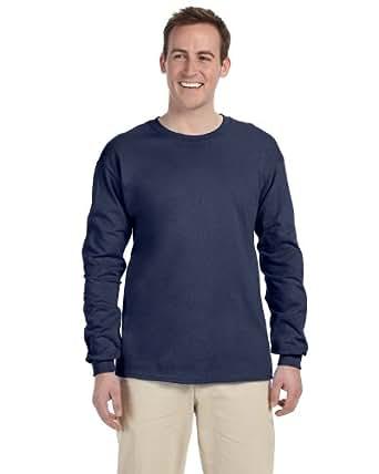 Fruit of the Loom 5 oz.; 100% Heavy Cotton HD� Long-Sleeve T-Shirt - DENIM - S