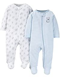 Carter's Just One You Baby Boys' Doggy 2-Pack Footed...