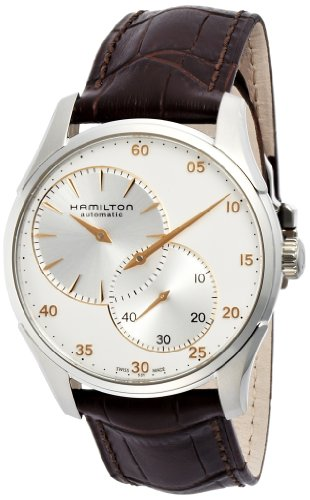- Hamilton Jazzmaster Regulator Silver Dial Stainless Steel Mens Watch