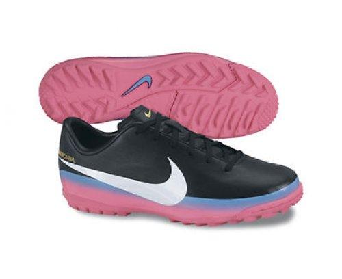 Nike JR Mercurial Victory III CR TF - Botas de fútbol para niño, talla 38, color negro/gris: Amazon.es: Zapatos y complementos