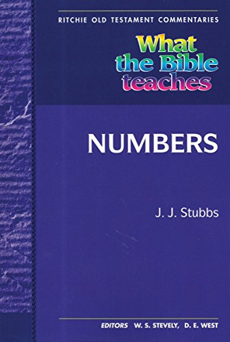 NUMBERS, BOOK OF - All The Bible Teaches About