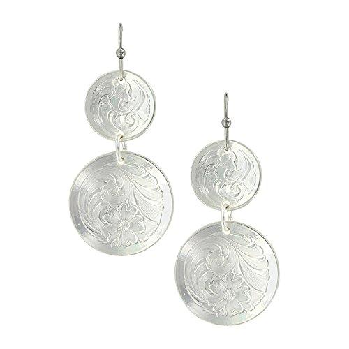 - Pendulum Concho Earrings