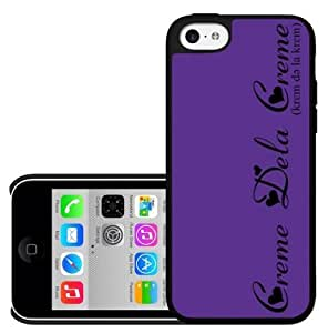 Purple Creme Dela Creme Hard Snap on Case (iPhone 5c)