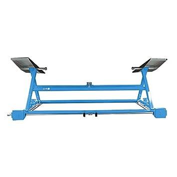 Mobile Hebebühne Mechanischer Mobiler Heber Blau Amazonde Auto