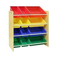 Pidoko Kids Toy Storage Organizer | Wooden Children