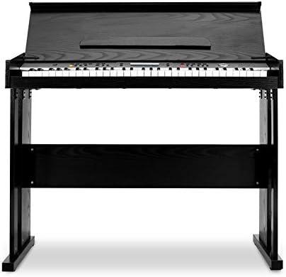 Schubert Carnegy-61 - piano eléctrico, teclado, 61 teclas, sensibilidad a la rapidez, 100 ritmos, 136 instrumentos, 8 pistas demo, altavoces, salida ...