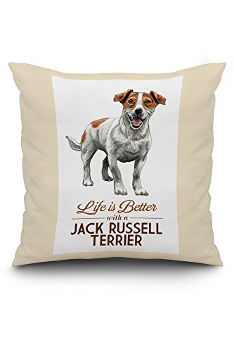 Lantern Press Jack Russell Terrier - Life