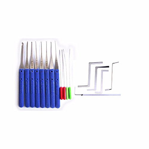 12pcs Extractor Tools And 5 Pcs Lock Wrench Tension Tools (Lock Picks And Tension Wrenches)