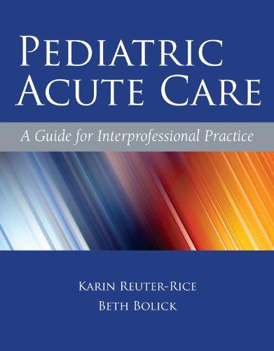 Download Pediatric Acute Care Pdf