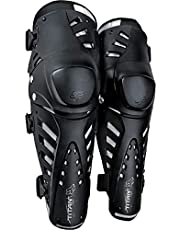 Fox Racing Titan Pro - Espinilleras (talla única), color negro