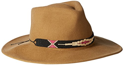 ale-by-alessandra-womens-taos-adjustable-felt-hat-with-beaded-trim-tobacco-adjustable-head-size