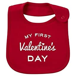 Carter\'s Just One You My First Valentine\'s Day Baby Bib