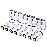 EBL CR123A CR123 Lithium Batteries with Battery Storage Box for Flashlight Camera Camcorder Toys Torch, Pack of 16