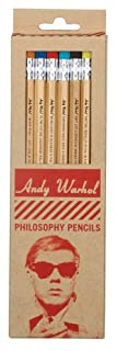 Andy Warhol Philosophy Pencils-Pencil Set by Andy Warhol (0735337004)   Amazon Products