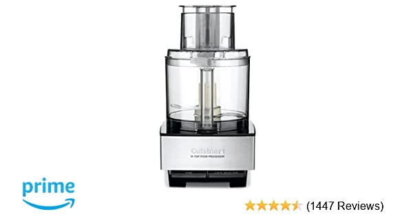 Amazon.com: Cuisinart DFP-14BCNY 14-Cup Food Processor, Brushed Stainless Steel: Kitchen & Dining