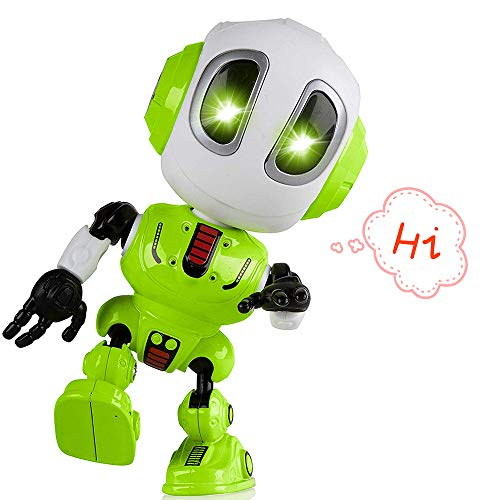 Tisy Fun Toys for 3-12 Year Old Boys, Talking Robot for Boys Toddlers Infant Kids Christmas Birthday Presents Gifts for 3-12 Year Old Boys Toy Age 3-12 Green ()