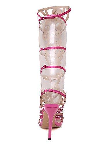 LFNLYX Zapatos de mujer-Tacón Stiletto-Tacones / Comfort / Innovador / Botas a la Moda / Zapatos y Bolsos a Juego-Sandalias / Tacones / Botas / Pink