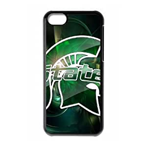 Michigan State iPhone 5c Cell Phone Case Black yyfabd-343957