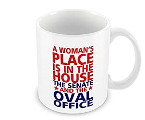 geek details a womans place is in the house senate and oval office coffee mug 11 oz white amazoncom white house oval office